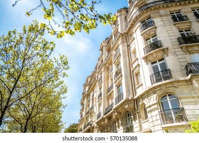 historic apartment house in Paris