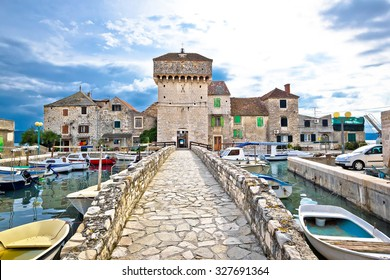 Historic architecture of Kastel Gomilica, Split, Croatia