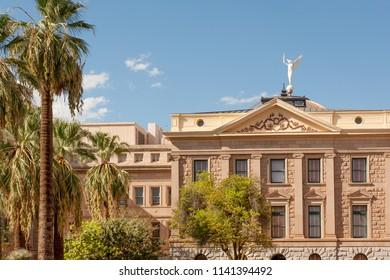 Historic Arizona State Capitol museum in downtown Phoenix, AZ