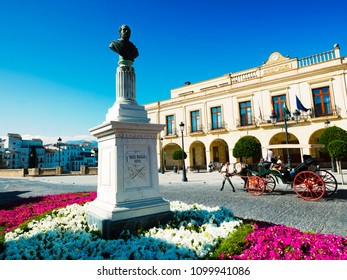 Historic and Artistic Center of Ronda, Ronda, Serrania de Ronda, Malaga, Andalusia, Spain, Iberian Peninsula