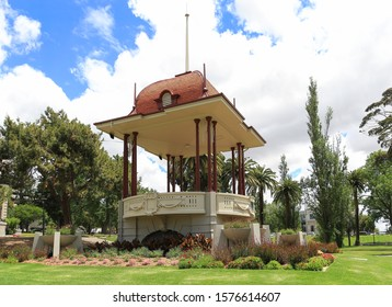 The historic bandstand (built in 1919)  in Johnstone Park in Geelong, Victoria, Australia.