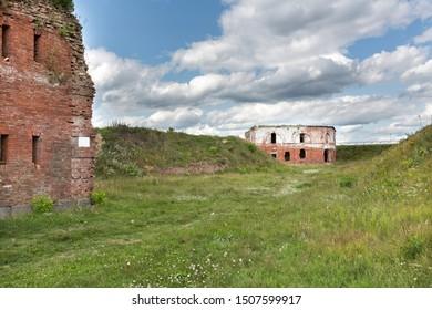 Historic Bobruisk fortress in Belarus