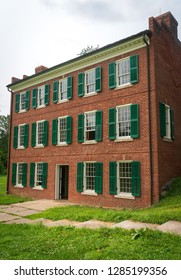 Historic brick building at the Hale Farm Village of Cuyahoga Valley National Park.
