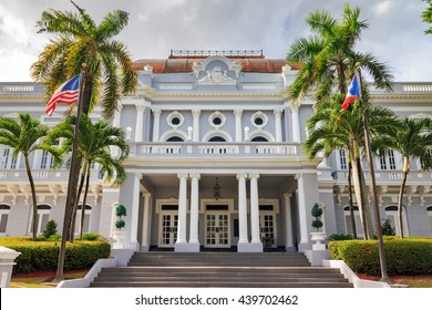 Historic building Antiguo Casino de Puerto Rico in San Juan, in Beaux Arts architecture