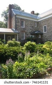 historic building and garden in the Bronx, New York