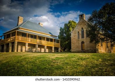 Historic Building Hartley NSW Australia