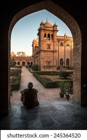 Historic building of islamia College Peshawar one of the oldest college in Khyber Pukhtunkhuwa Province , Pakistan.