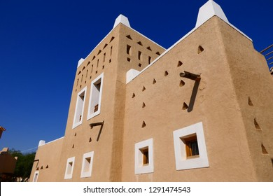 A historic building in the old city of Diriyah, an UNESCO World Heritage, near the capital Riyadh, Kingdom of Saudi Arabia