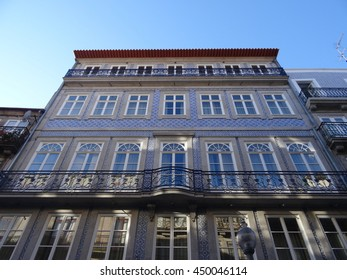 Historic building of the Porto city - Portugal