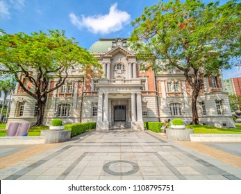 """A historic building in Tainan City, Taiwan. (The English translation of the text on the gate means """"national museum of Taiwan literature"""")"""