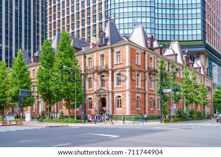 historic building in Tokyo