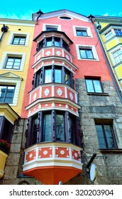 historic buildings in Innsbruck Austria
