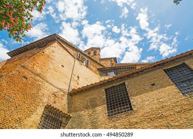 historic buildings in Siena, Italy