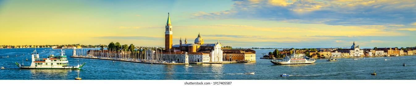 historic buildings in Venice - Italy - near canale grande