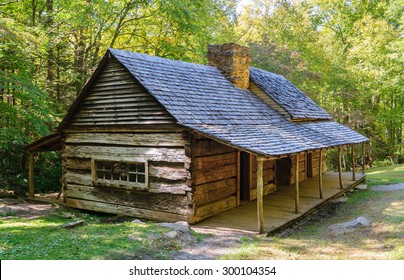 Historic Cabin at Great Smoky Mountains National Park