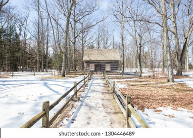 Historic cabin near Traverse City, Michigan