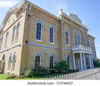 Historic Casino Hall in La Grange Texas, Fayette County
