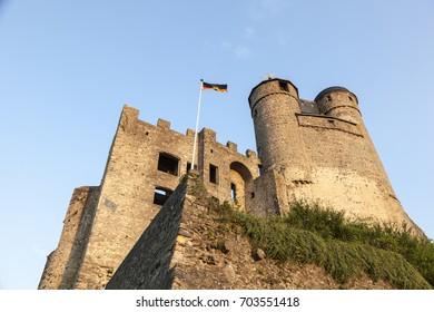 Historic castle Greifenstein in Hesse, Germany