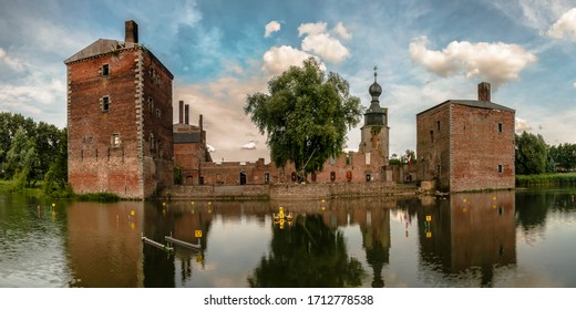 Historic Castle of Havre in Wallonie region of Belgium