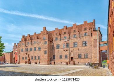 The historic castle of malmohus situated in the swedish city of Malmo.