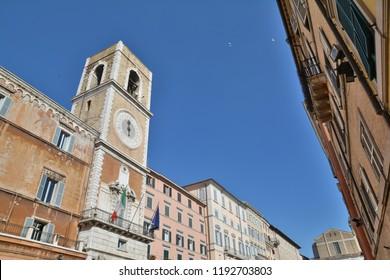 Historic center of Ancona, city of central Italy