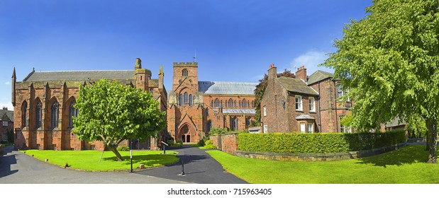 Historic Center of Carlisle. Carlisle is a city and the county town of Cumbria.