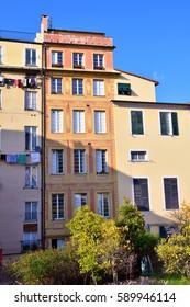 the historic center of Genoa