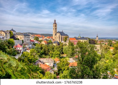 Historic center of Kutna Hora with Church of St James, Czech Republic, Europe. - Shutterstock ID 1765765238