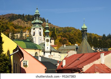historic center town Banska Stiavnica, Slovakia Unesco