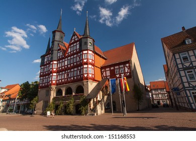 Historic Centre of Duderstadt, Lower Saxony, Germany