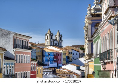The historic centre of Salvador, Brazil