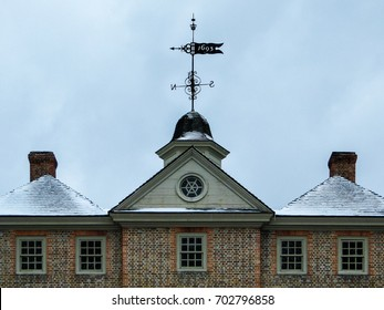 The Historic Christopher Wren Building on the Campus of the College of William & Mary in Williamsburg, Virginia, United States of America