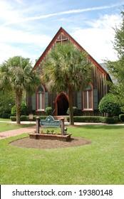 Historic Church of The Cross in Bluffton area of Hilton Head, South Carolina