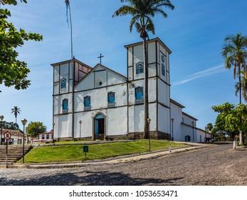 historic church in Pirenopolis, Brazil