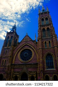 Historic Church With Sky