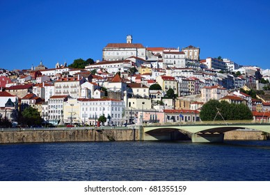 Historic city of Coimbra in Portugal