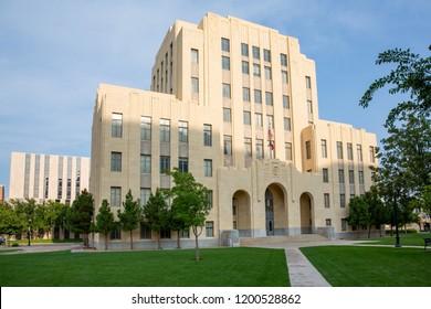 Historic City Hall of Amarillo, Texas, USA