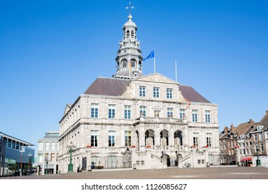 The historic City Hall of Maastricht in Province Limburg, the Netherlands
