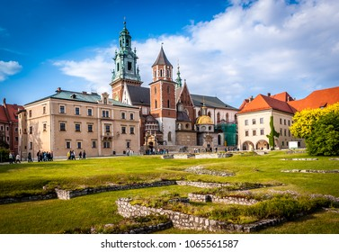 Historic city of Krakow in Poland