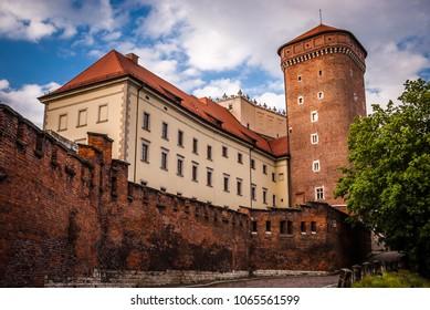 Historic city of Krakow in Poland