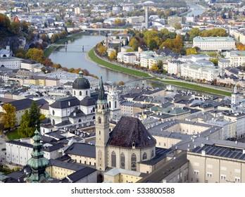 Historic city of Salzburg, `Salzburger Land, Austria
