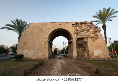 Historic Cleopatra's Gate in Tarsus, Turkey
