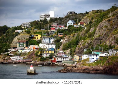 The historic and colorful Battery neighborhood in St. John's Newfoundland