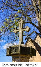 Historic cross.  A Symbol of Confidence and believe of the Christianity