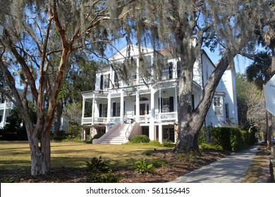 Historic Cuthbert House in Beaufort South Carolina