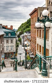 The historic district of Old Quebec is a UNESCO World Heritage Site.