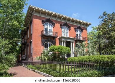 Historic district in Savannah, Georgia
