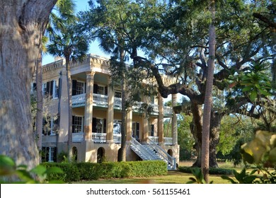 The historic Doctor Joseph Johnson house in Beaufort South Carolina, also known as The Castle