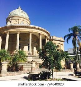 Historic domed building in Rockhampton Queensland Australia