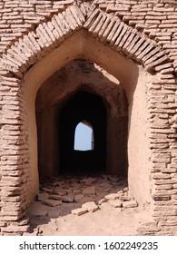 historic Door pass of kot degi fort in sindh pakistan